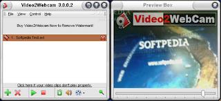 Video2Webcam 3.5.7.8 برنامج لبث الفيديو